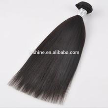 Hot! 2015 New Arrival Tangle and Shedding Free Full Cuticle yaki pony hair braiding hair braids