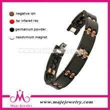 Very popular hot jewelry gift men bio magnetic friendship bracelets