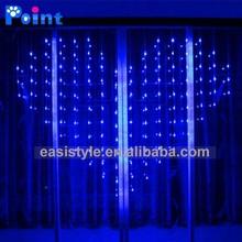 Indoor decoration led curtain light and decorative led lights fiber optic light curtain