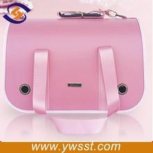 Pink fashion dog bag for girl, wholesale dog carrier