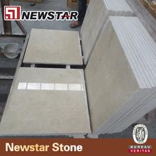 Newstar best selling beige marble tile crema marfil marble