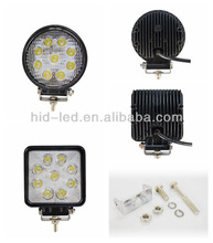 Factory Direct! 15W 18W 24W 27W 48W led work light ,IP68 led worklight,CE/Rohs approved led work lamp