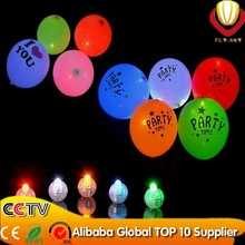 Event & party supplier glow in the dark balloon festival party decoration flashing led balloon as neon