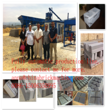 QT10-15/qt10-25 fully automati construction project proposal for machine hollow block making project