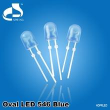 Super bright 5mm oval led