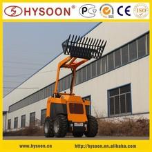 China supplier HYSOON HY40 Mini wheeled Loader
