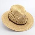 Mode frauen sommer hüte 100% bast zum häkeln