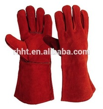 leather welding and hand working glove,Cow Split Leather Kevlar Working Glove factory,cowhide leather Welding Gloves with Kevlar