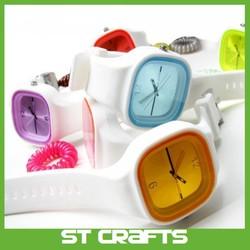 2015 Jelly silicone watch customized logo silicone jelly watch silicone jelly watches with your own logo,diamond jelly watch