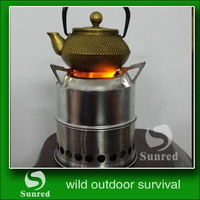 popular promotional wood tree carbonization stove