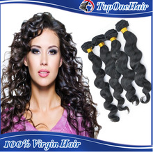 wholesale high quality brazilian loose wave human hair extensions cheap virgin hair weaves loose curly hair
