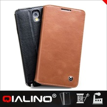 QIALINO Comfortable Design Imported Leather Holster Case For Samsung For Galaxy For Note 3