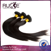 Full Head 3pcs set body wave silky straight hair natural color fashion weave hair headband