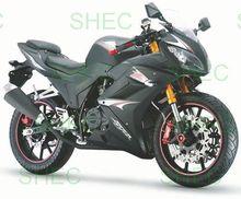 Motorcycle 125cc cruiser chopper motorcycle