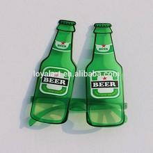 Beer bottle shape party glasses