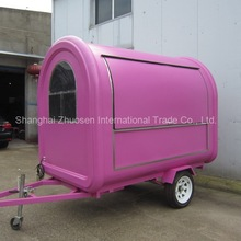 Environment-friendly Mobile Kitchen Food Truck Van for Sale ZS-FT250 B