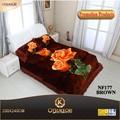 linha de produtos de poliéster grosso cama de casal tamanho