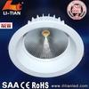 professional COB Led Lamps Manufacturer ce cob led round downlight 30w