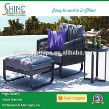 Shine rattan furniture diwan leisure outdoor furniture SH139