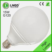 Long lifespan parking lot e27 15w led light bulb