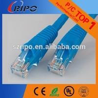 Cat5e lan patch cord rg45 plug utp patch cable