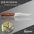 440c point clip en acier couteau de chasse lame