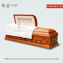 HOPE American Wooden Casket Interiors casket interior decoration
