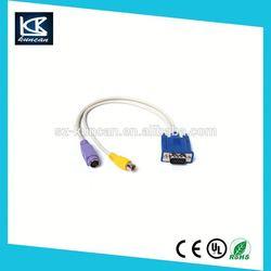 KunCan-3 RCA Audio/Video Cable