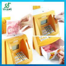 YK-902 Mini Digital ATM Bank Toy Plastic Money Box Cat