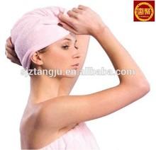 Hair Drying Towel - Turban - Magic Hair woman USA market
