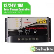 12 v 24 v 10A controlador de carga solar nova coleção com preço competitivo