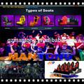 rodillo barato coaster juego infantil mini cine 5d 5d equipo de cine con asientos de movimiento