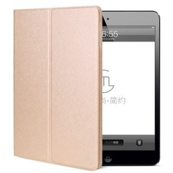 new products on china market , luxury leather smart cover for ipad air 2