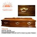 Td-e14 chinês preço barato mdf caixão
