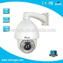 chavega 27x 150m IR distance auto motion tracking ptz analog camera