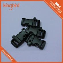 Quick release buckle Bracelet,Plastic Whistle Buckle