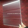 Panneaux de plafond de décoration en plastique pvc de plafond de conception pour fonds d'écran
