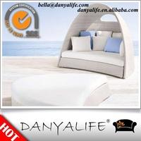 DYLG-D2205 Danyalife Outdoor Resin Wicker Beach Lounger Chair