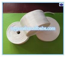 White Non- alkali insulation woven fiberglass tape for electrical insulation