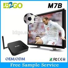 M7B Android 4.4 amlogic s802B quad core 2.0ghz 2GB ram 8GB rom 4k Beelink M7B TV BOX