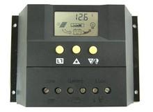 12v 24v 60a lcd controlador de carga solar