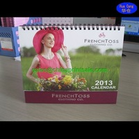 TOP grade table calendar promotional with cheapest price