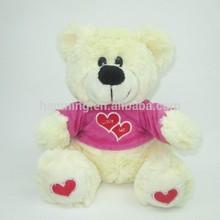 Handmade cute plush stuffed toy teddy bear doll