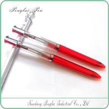 Hot sale cheap cutsom 3 refills multi functional ball pen