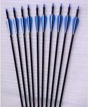 High quality fiberglass bows and arrows for hunting