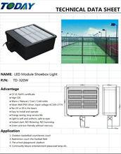 Outdoor Basketball Court Led Light 320w led shoebox housing light