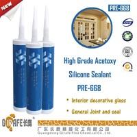 Prince PRE-668 High Grade Acetoxy Silicone Sealant