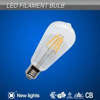 New design Hot Sale 360 degree E14 E27 2W 4W 6W 8W LED filament bulb