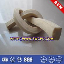Customized sponge white rubber edge