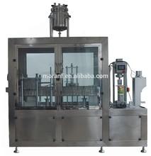 Semi-automatic control gable top carton soy milk filling machine
